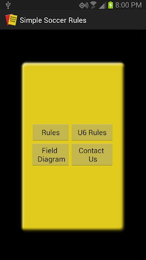 Simple Soccer Rules Ad free