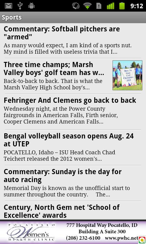 Idaho State Journal - screenshot
