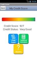 Screenshot of My Credit Score