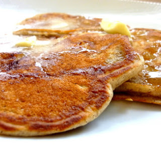 Spiced Banana Pancakes