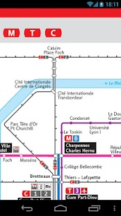 Lyon Metro & Tramway & Trolley- screenshot thumbnail