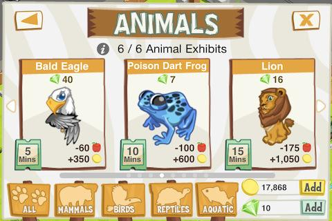 Zoo Story- screenshot