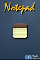 Screenshot of AG Notepad