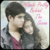 Aliando Prilly Behind Scene