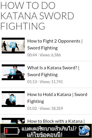 Katana Sword Fighting