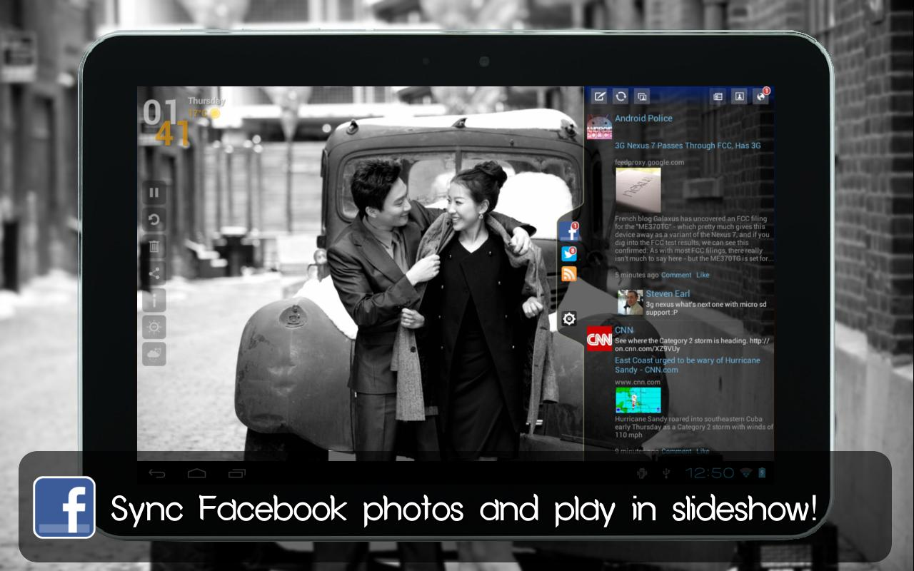 Social Frame HD (Photo Frame) - screenshot