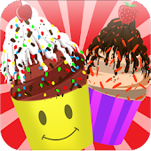 Icecream cups - Girls Game