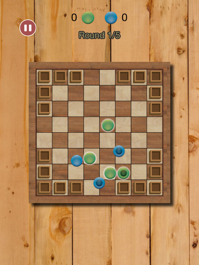 Checkers War: Chapayev Game- screenshot