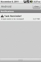 Screenshot of Task Reminder Pro