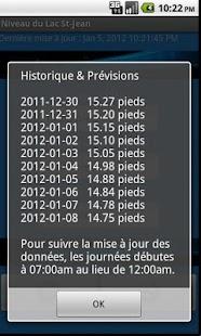 Niveau du Lac St-Jean Gratuit- screenshot thumbnail