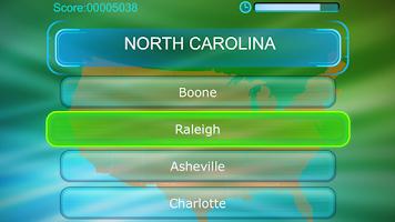 Screenshot of Capitals of USA