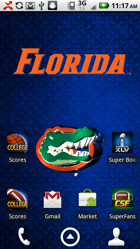 Florida Gators Live Wallpaper - screenshot