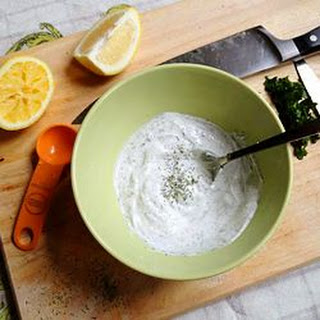 Lemon Dill Yogurt Dip