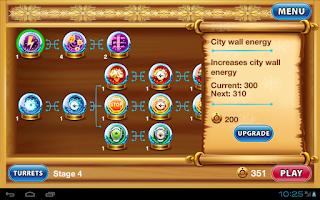 Screenshot of Defense Battle Xmas