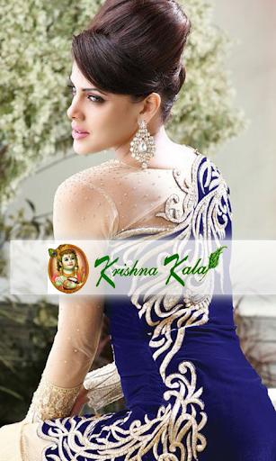Designer Suits Krishna Kala