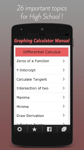 Manual for Calculator TI-84