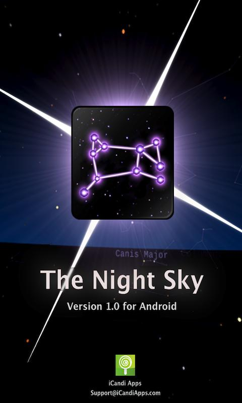 The Night Sky - screenshot