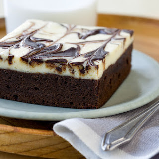 Cheesecake Topped Brownies.