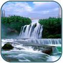 3D Waterfall HD wallpaper icon