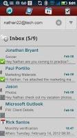 Screenshot of Hotmail ActiveSync 4 Tab