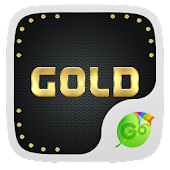 Gold Emoji GO Keyboard Theme
