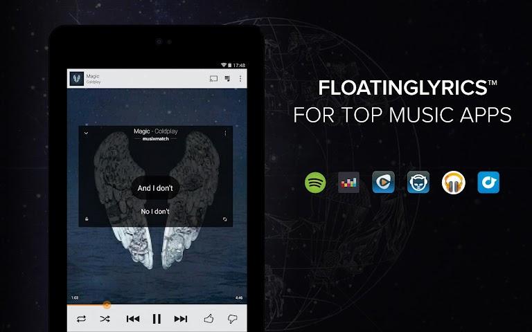 android Musixmatch Songtexte Screenshot 9