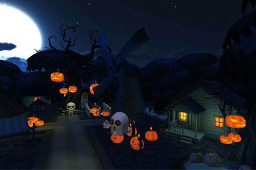 Haunted Village Live Wallpaper