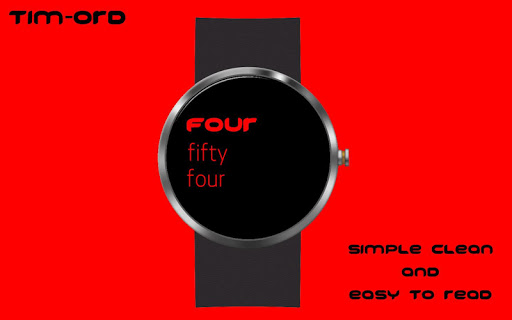 Tim-ord - Wear Watchface