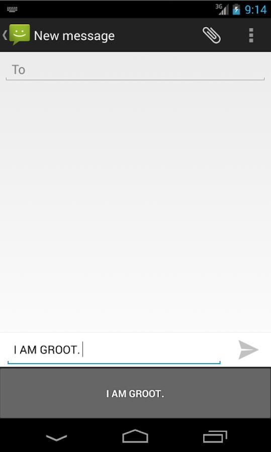 GrootBoard- screenshot
