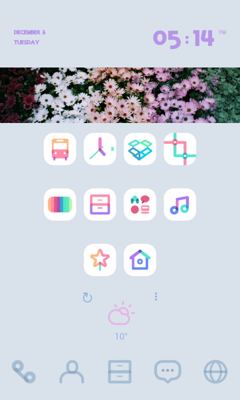 Dodol Launcher - phone decor - screenshot