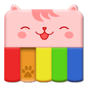 AFW - Piano Cat Widget