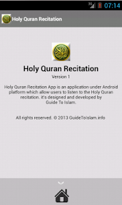 Holy Quran Recitation screenshot 3