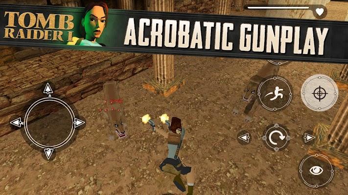 Tomb Raider I - imagem de tela