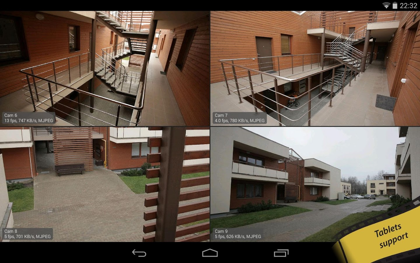 tinyCam Monitor FREE - screenshot
