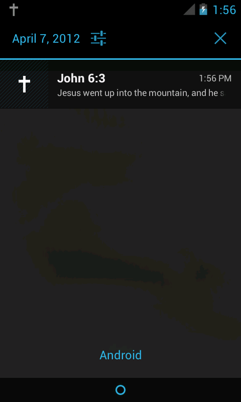 Daily Bible Verse YLT - screenshot