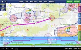 Screenshot of SkyDemon