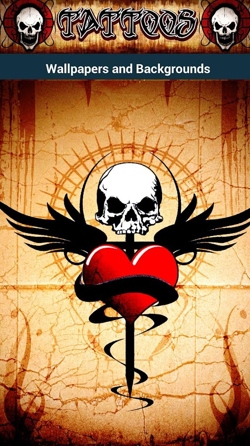 Tattoo Skull wallpapers ☠ HD - screenshot