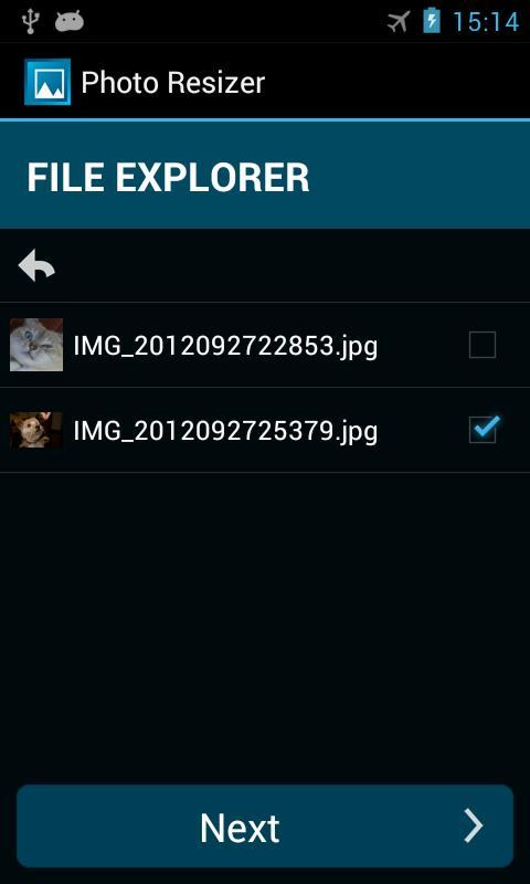 Photo Resizer- screenshot