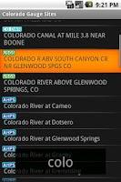 Screenshot of RiverFlows