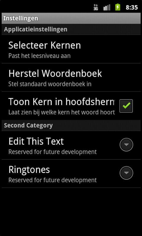 Flitswoorden - Leren Lezen- screenshot