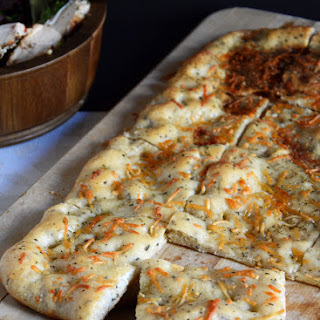 Simple Garlic Oil Focaccia