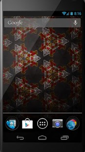 Kaleidoscope LiveWallpaper- screenshot thumbnail