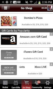 JunoWallet Earn Gift Cards NOW - screenshot thumbnail
