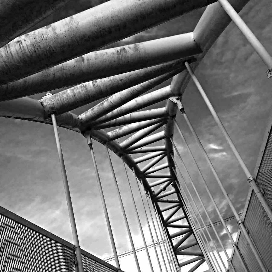 Puente by Vanessa Lazzarini - Products & Objects Industrial Objects ( black and white, bridges, objects, bridge )
