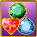 Match-3 Jewels Worlds icon
