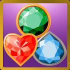 Match-3 Jewels Worlds icon