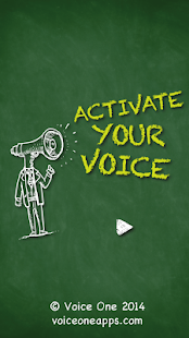 Voice One: Activate Your Voice- screenshot thumbnail