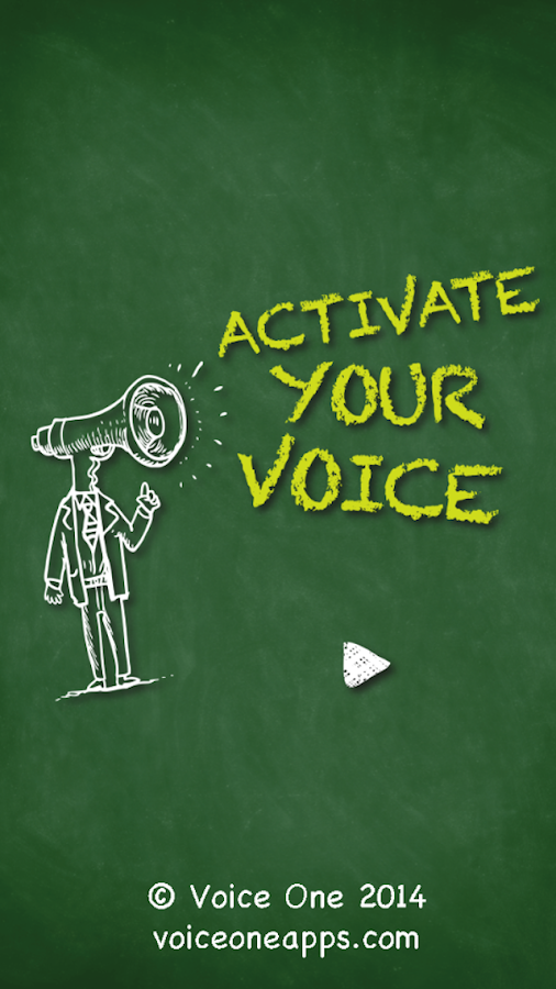 Voice One: Activate Your Voice- screenshot