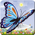 Butterfly Memory Cards Game logo