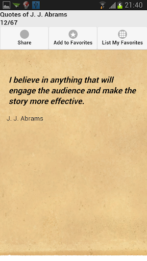 Quotes of J. J. Abrams